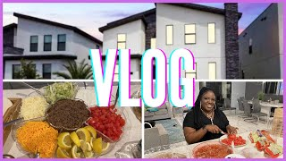 Vacation Vlog: Welcome to our Kissimmee Air BNB Tour and Taco Tuesday I Orlando, Fl