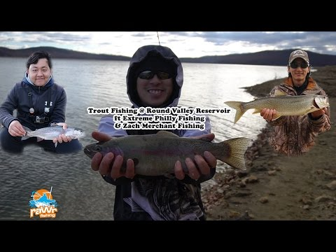 Trout fishing w/ Extreme Philly Fishing, Zach Merchant & More - Round Valley Reservoir