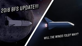SpaceX BFS update! Will the wings fold? Why?