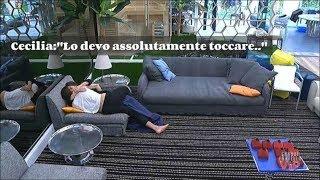 Cecilia Rodriguez e Ignazio Moser senza freni - Si toccano in diretta TV  #Gf Vip 2