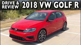 Here's the 2018 Volkswagen Golf R on Everyman Driver