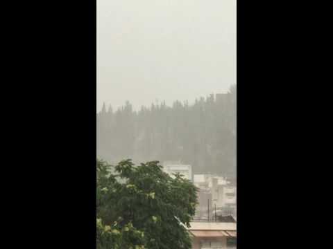 LamiaReport.gr: Βροχή στη Λαμία 28-06-16