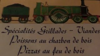 Victoria Station Train Theme Restaurant Paris Wagon