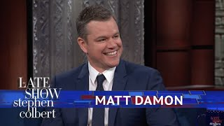 Matt Damon Thought The
