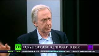 Talking about Madison's Gift on Thom Hartmann's TV show
