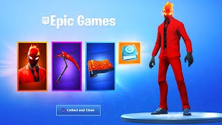 Das neue INFERNO PACK in Fortnite..