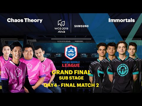 Repeat WCG 2019 Xi'an, CRL Invitational Finals, Match 2 Set 2, Chaos