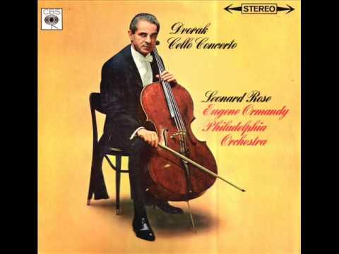 Dvorak-Cello Concerto in b minor Op. 104 (Complete)