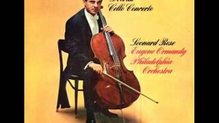 Dvorak-Cello Concerto in b minor Op. 104 (Complete)