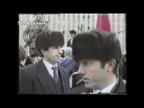 "National Anthem of the Chechen Republic of Ichkeria: ""Ӏожалла я маршо""(Millitary parade 1994)"