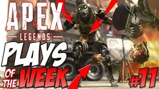 OCTANE is INSANE in Apex Legends Plays of the Week #11