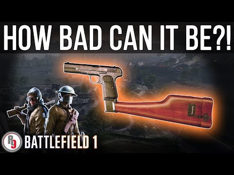 Least used Pilot/Tanker gun in Battlefield 1?