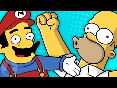 More Nintendo References in Cartoons! Simpsons Adventure Time +More ToonedUp S6E23 ChannelFrederator