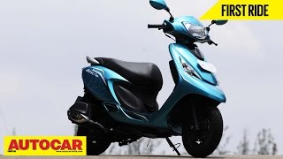 2014 TVS Scooty Zest | First Ride Video Review | Autocar India