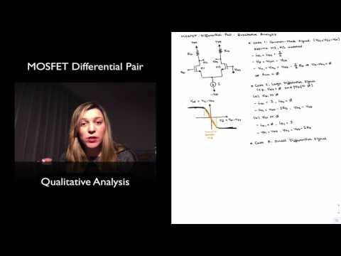 MOSFET Differential Pair: Qualitative Analysis