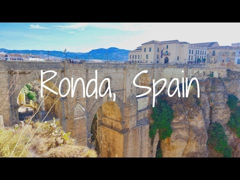Visiting Ronda in Andalusia,  Spain