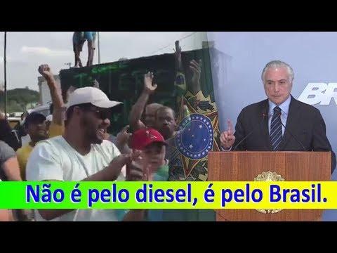 """CAMINHONEIROS: """"Não é pelo diesel, é pelo Brasil. """""""