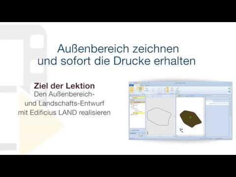 Tutorial von Edificius - Außenbereich zeichnen und sofort die Drucke erhalten - ACCA software thumbnail