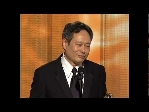 Ang Lee Wins Best Director Motion Picture - Golden Globes 2006