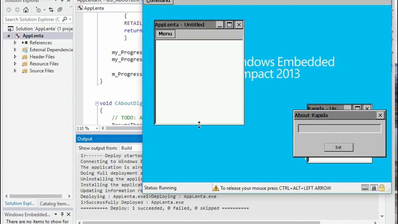 (V) Develop apps for a virtual Windows Embedded Compact 2013