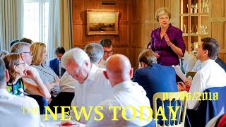 May Wins Support From Divided UK Government On Brexit Plan | News Today | 07/06/2018 | Donald Trump