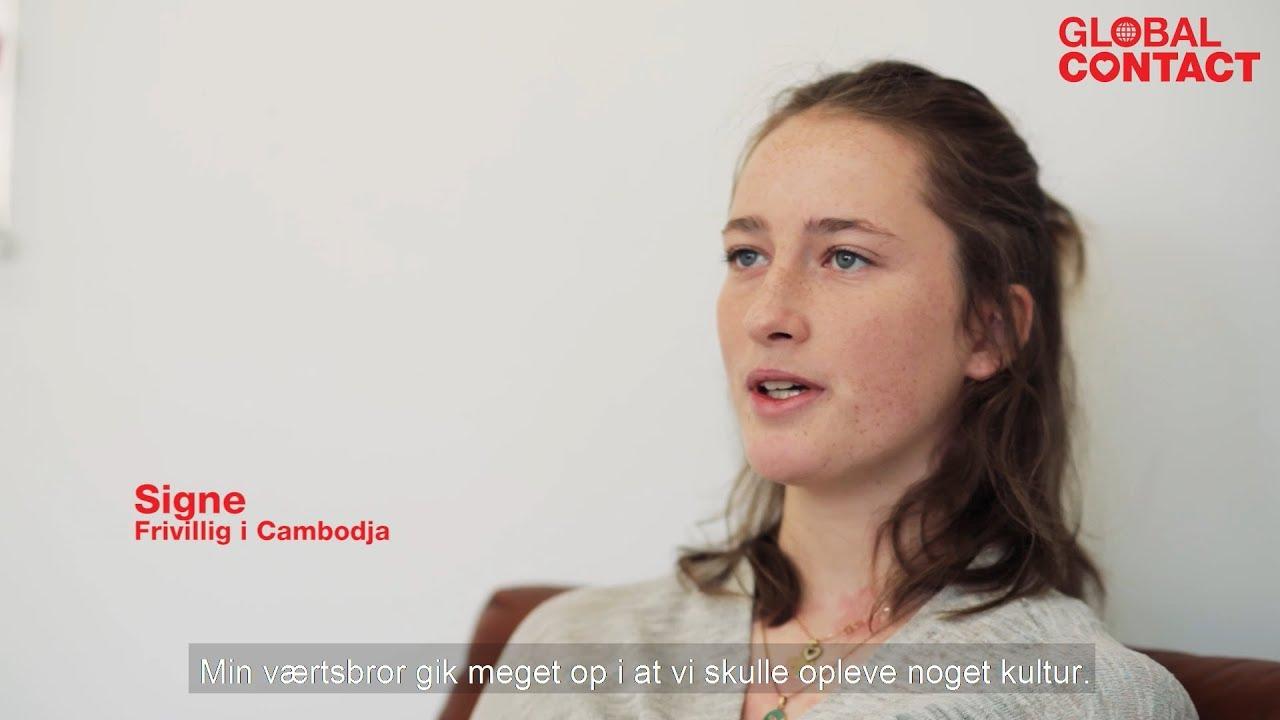 Frivillig i udlandet - om at bo hos en værtsfamilie - YouTube
