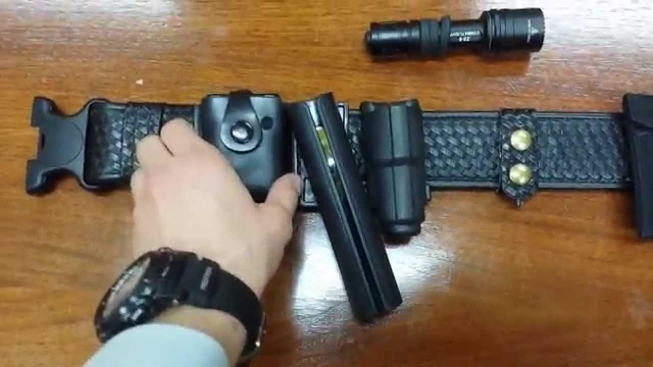 Canadian Law Enforcement Duty Belt Youtube