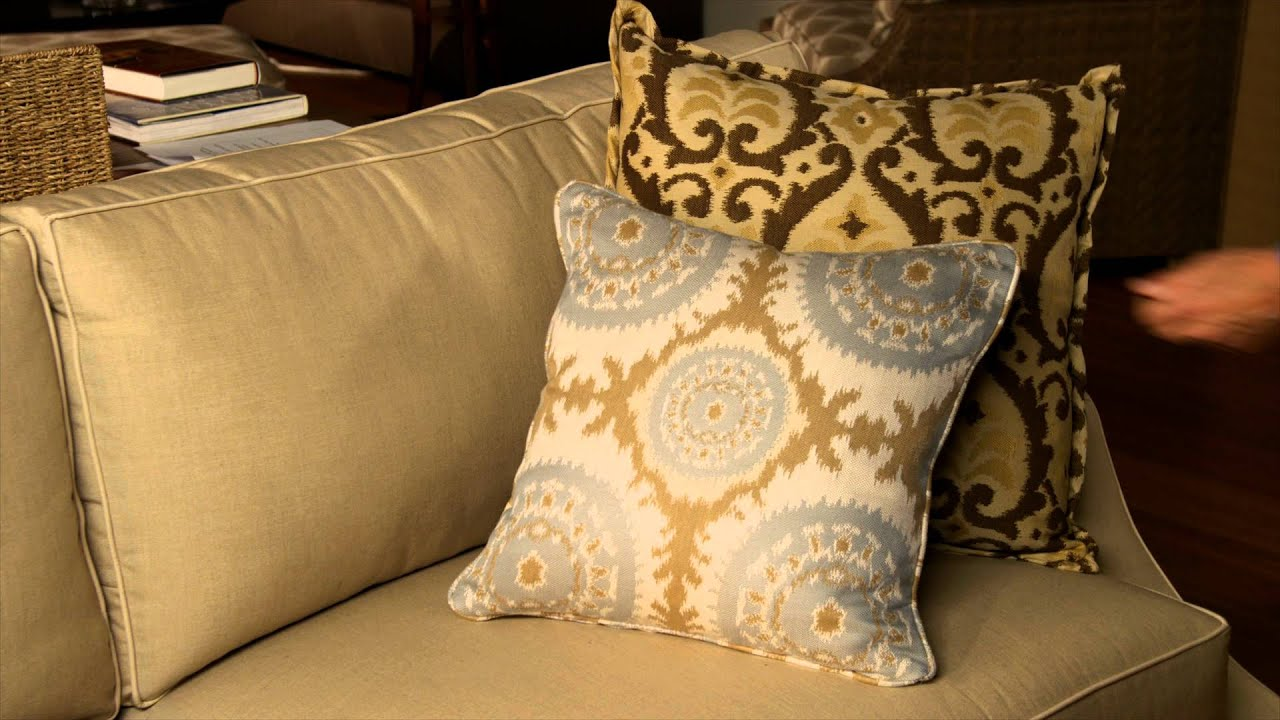 Brown Couch Pillow Ideas Decorating Ideas How Pillows Can Change A Room