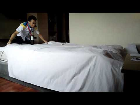 Making bed 3 sheet tercepat (dedi,anugerah palembang)
