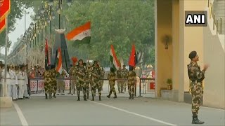 Independence Day | Beating the Retreat ceremony at Wagah-Attari border