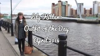 Outfit of the Day: Transitional Modern/Vintage Tea Dress | Lily Kitten Thumbnail
