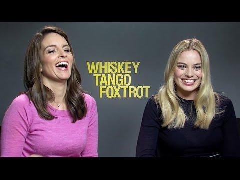 Tina Fey & Margot Robbie Turn Tables On Us - Whiskey Tango Foxtrot Interview