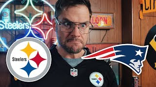 Dad Reacts to Steelers vs Patriots (Week 15) thumbnail