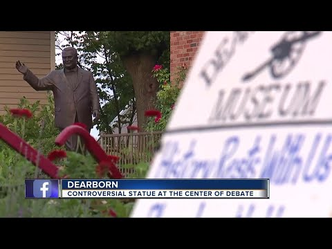 Controversial statue at center of debate in Dearborn