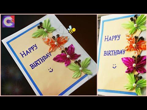 BIRTHDAY CARD making ideas | Easy Handmade greeting cards | Diy cute card ideas for kids