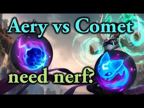 Arcane Comet vs Summon Aery Comparison - Buff Needed?