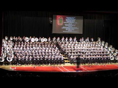 Ohio State Marching Band 2013 Concert I Wanna Go Back TO Ohio State 11 10 2013