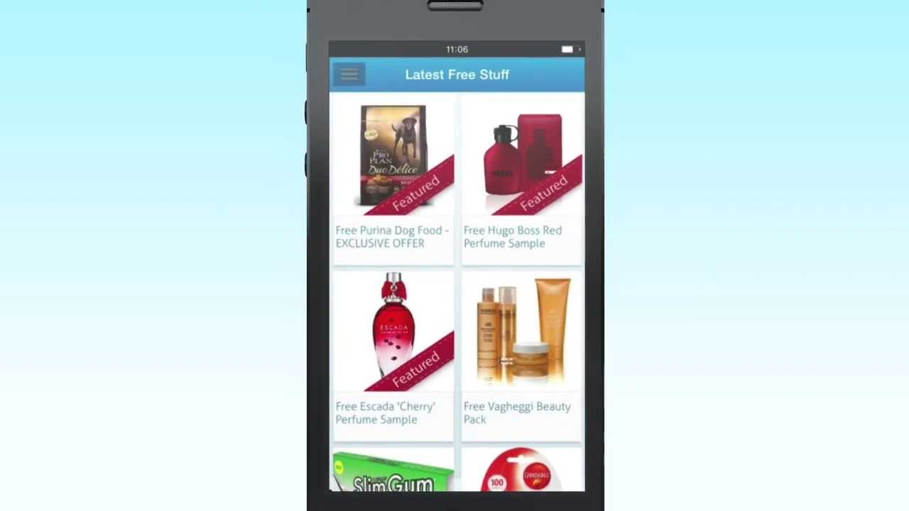 Latest Free Stuff iPhone and Android App | LatestFreeStuff