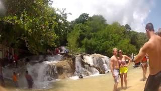 Dunn's River Falls and Snorkeling - Ocho Rios, Jamaica - HD