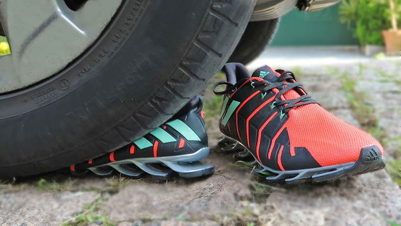 finest selection e1088 2365d where to buy o adidas springblade pro aguenta um carro the vict até o  limite 5