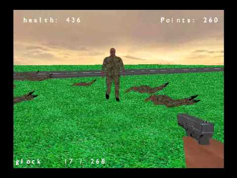 FPS game (C++, OpenGL, SDL)