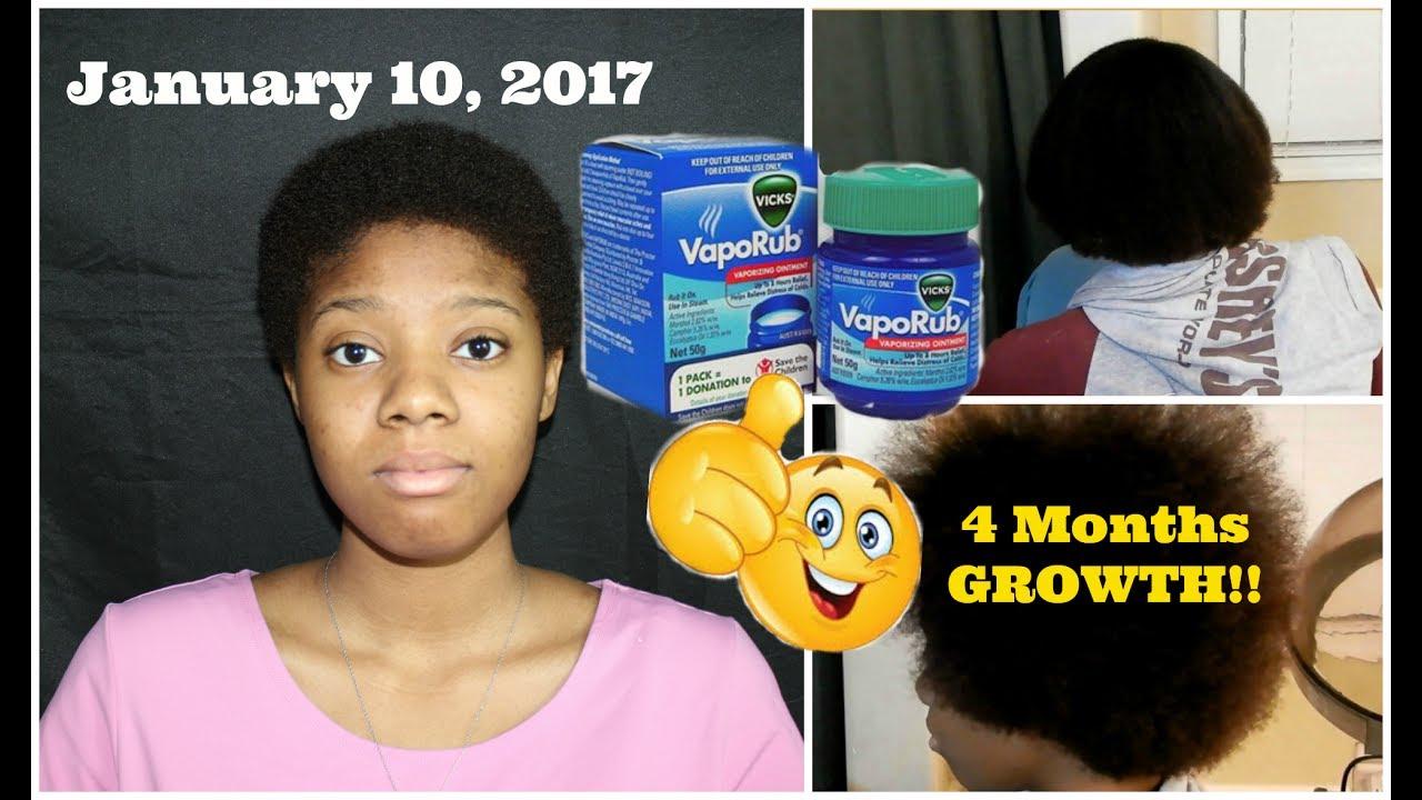The ORIGINAL Vicks Vapor Rub Hair Treatment Part 5