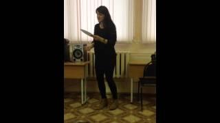 Alexandra Karasyova - Weight of the world (cover)