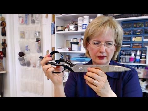 Scissors 101 Cutting Through Confusion - HowToGetCreative.com with Barb Owen