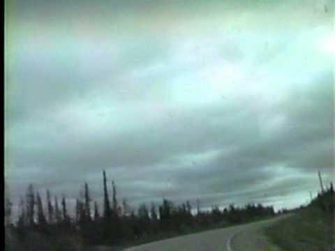 Mackenzie Highway entering Hay River, NWT June 1996