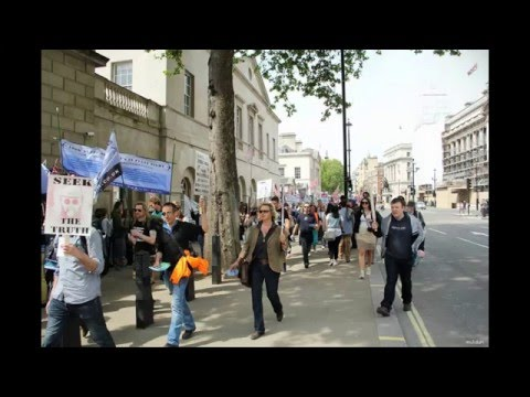 UK March against Geo-Engineering Chemtrails: the People had enough!