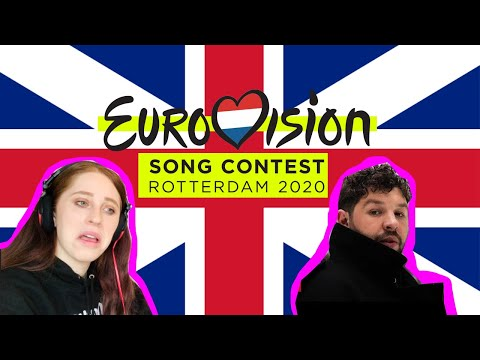 BRITISH GIRL REACTS TO THE UK EUROVISION 2020 // JAMES NEWMAN // LAST BREATH