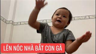 """Con gái rượu Khương Dừa đọc ráp """"lên nóc nhà bắt con gà"""" cho anh Hai ăn, chắc thứ Rap Việt nhí được"""