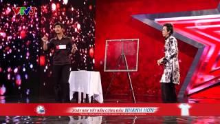 Vietnam's Got Talent 2014 - TẬP 08 - Giám khảo Hoài Linh bị đọc suy nghĩ như thế nào? - Trần Anh Đức