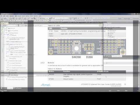 Getting Started with Atmel | SMART SAM D MCUs: Configuring